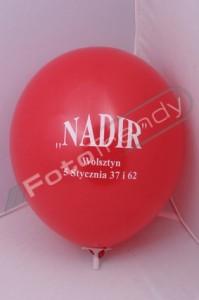 Balony z helem- promocja salonu samochodowego